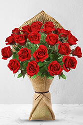 24 Long Stem Premium Rose Bouquet